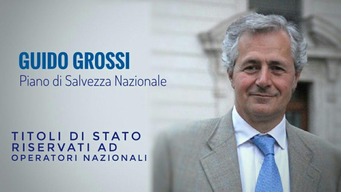 Piano di salvezza nazionale Intervista a Guido Grossi