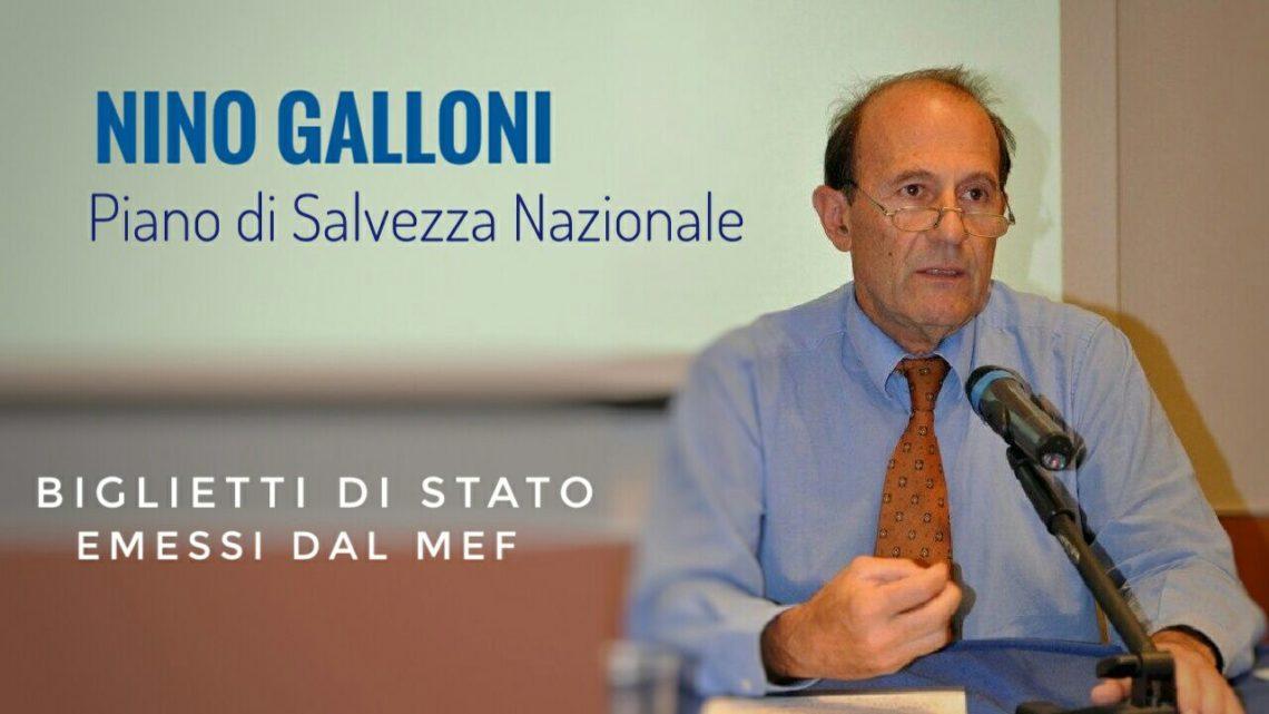 Piano di Salvezza Nazionale Intervista a Nino Galloni