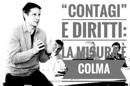 """Intervista a Luca Speciani  su """"contagi"""" e diritti: la misura è colma"""